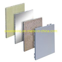 O alumínio/alumínio alveolado composto de painel de chapa de alumínio para decoração exterior