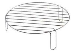 Rundes chromierenmetalldraht-Gitter-Ofen-Zahnstangen-Regal mit Füßen