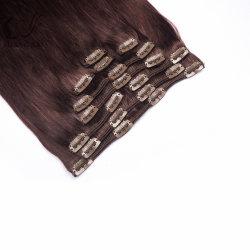 El amor Indidan Cabello Remy cabeza llena Clip en la extensión de cabello humano Resalta el color del cabello