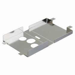 Kundenspezifische Teile EMS Der Edelstahl-Herstellungs-SS Abschirmungs-Teile für elektronisches