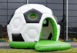 Forma de fútbol gigante personalizado domo inflable Gorila Casa