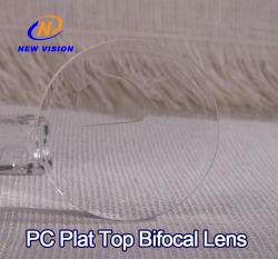 폴리탄산염 편평 정점 이중 초점 Hmc 완성되는 렌즈