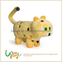 Minecraft des jouets en peluche des animaux en peluche tigre en peluche pour les enfants