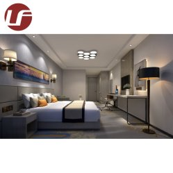 La conception de mobilier moderne en bois Meubles de chambre à coucher de l'hôtel personnalisé