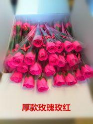 Baño de Flores Artificiales Jabón de papel de regalo de flores en la actualidad