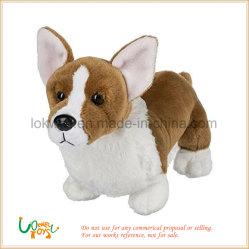 Angefülltes Tier-Spielzeug-weicher Spielzeug-Hundeplüsch-Spielzeugcorgi-Hund