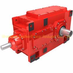 Venta caliente popular de la serie B de alta eficiencia H. Reductores, Engranaje reductor de velocidad de impresión, la comida de la línea Pecessing