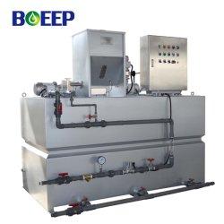 Sistemi di alimentazione chimica trattamento dell'acqua flocculante polimerico