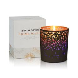L'arôme parfumé de fantaisie de bougie Bougie de cire de soja avec LED