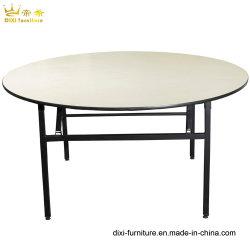 Le pliage de contreplaqué utilisé ronde PVC Table de banquet pour mariage