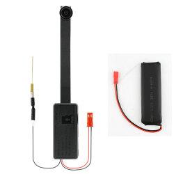 4K 2500mAh Powered Remoto IP rede P2P V93 Mini WiFi de Segurança da câmara do módulo