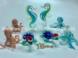 Hbking Animal Shape Glass Carfts Glass Necklace