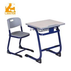 Haute qualité haut de l'école MDF de bureau et chaise avec BIFMA