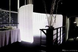 Muro de la curva de iluminación LED inflables