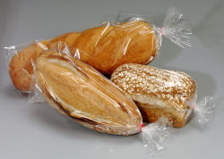 O LDPE transparente PE Poli Food Embalagem