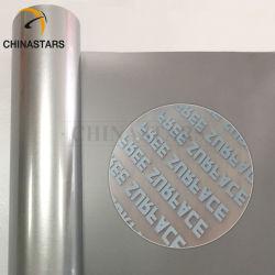 衣類のための反射テープの銀製の反射熱伝達のビニールのフィルムの鉄