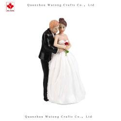 La Novia de resina&Adorno de Torta de novia boda decoración artesanal de figurillas