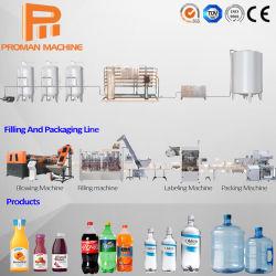 Linea di produzione di macchine per il riempimento di bottiglie completamente automatiche