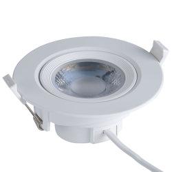 5W/Commercial 7W/9W/12W/15W à LED haute puissance de l'intérieur vers le bas de la lampe de plafond ronde Spot LED SMD de l'éclairage encastrés Downlight
