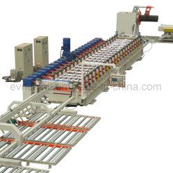 Structure en acier pont formant la ligne de rouleau de plancher