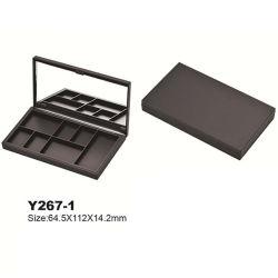 Forme unique 1 Color Palette plastique de l'aimant Eye Shadow cas boîte compacte Cosmetic Packaging Y267-1
