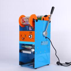 良質の熱い販売の半自動コップのシーリング機械の泡の茶 カップシーリングマシンカップシーラー