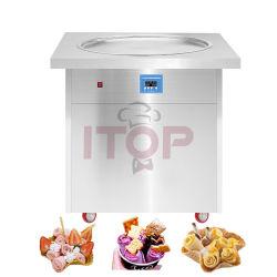 Het Broodje die van het roomijs de Machine Gebraden Machine van het Roomijs van het Gebraden gerecht van de Machine van het Roomijs (SSI150FIC) maken