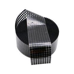동그라미 블랙 베이비 소프트 클리어 코인 도매 표준 라운드 좋은 가격 강한 끈적끈적한 후크나 고리 자접착식 점