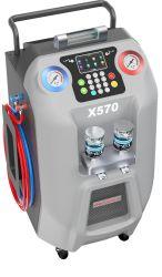 2 in 1 A/C-koelmiddel Recycling and Flushing machine met Min. CAN-koelmiddel bijvullen