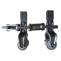 Produttore professionale di catene di trasporto a monorotaia a forbasculamento e a forbasculamento Carrello per linea di trasporto prodotti da pollame (X348 X458 X678 XT160)