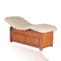 Simples de madera confortables camas de masaje eléctrico SPA mobiliario para las ventas en caliente (09D09)