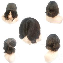 سعر الجملة 5x5 الحرير أعلى اليهودية كوشر مستعار رخيصة الشعر البرازيلي 100 ٪ من الشعر البكر الطبيعي 'ق الشعر البكر 'ق 'ق م الإنسان كوشر ويغ شييتل بيروك
