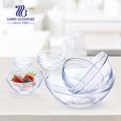 Kom GB1309092fg van het Glas van de Vorm van het Ontwerp van de Fabriek van 3.62 Duim de Directe Unieke Decoratieve Vierkante