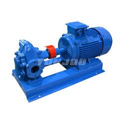 Pompa a ingranaggi rotativa esterna orizzontale o verticale di KCB dell'acciaio inossidabile del ghisa della pompa a ingranaggi del rotore dell'olio