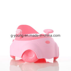 Baby Children Kids Products Baby Plastic onbenullige zitje met rugleuning