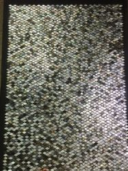 3D BRead Mosaic البلاط ، الفيسفساء الحجر ، مواد زخرفة شل