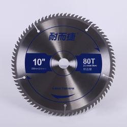 شفرة المنشار الدائري Tct لقطع الخشب 10X80t / 250X80t