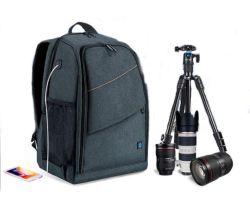 حقيبة حقيبة حقيبة الظهر SLR/DSLR للكاميرا المقاومة للمياه لشولدر حقيبة السفر من Canon Nikon عدسة سوني الرقمية