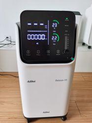 2 Personen-Gebrauch-beweglicher medizinischer Sauerstoff-Generator-Konzentrator mit LED-Bildschirm