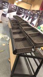 Hot sale solido durevole frutta e verdura Mostra scaffale per Rack per esposizione di negozi di alimentari