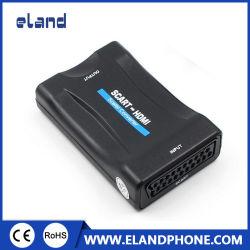 Scart para conversor HDMI 1080p