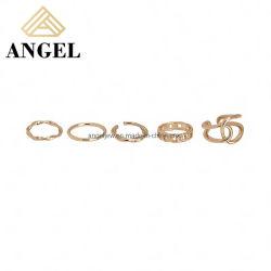 Nuevo modelo mayorista Bisutería anillo plata esterlina 925 juegos para mujeres