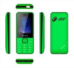 Celular de alta qualidade 2.4Inch Kaios possuem telefone com 4 GB+512 MB de memória, 2500mAh, Duplo SIM Espera, 3G possuem telefone Celular WCDMA