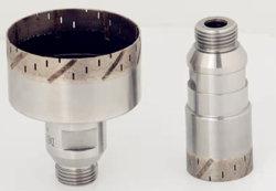 Glazen CNC-boortje met diamant-sintered en koelopening