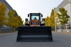 Estandarte 4 Ton carregadora de rodas, 2,5m3 Balde, preço baixo, motor Cummins de Alta Qualidade/Motor Weichai