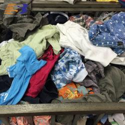중고 의류 베일 여름 혼합 중고 의류 코튼 티셔츠 남성과 여성을 위한 드레스