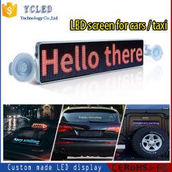 شاشة LED لسيارة الأجرة تمرير WiFi التحكم في Bluetooth السيارة السقف المتحرك إشارة شاشة LED خلفية مزدوجة الجانب مع تاكسي P5