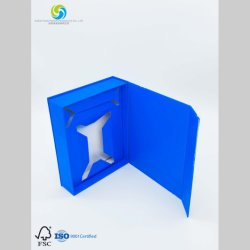Kundenspezifischer Papierkasten für das Verpacken der Kosmetik mit überzogenem Papier
