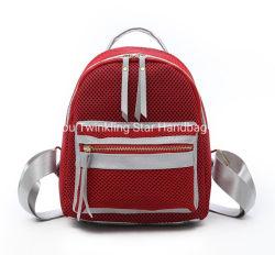 أزياء سيدة حقيبة الظهر Purse النسيج الشبكي حقيبة سفر الفتيات اليومية حقيبة الظهر