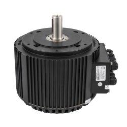 セリウムの20kw 85 N.m 4000RPMの空気または液体冷却を用いる電気オートバイモーターキット/電気自動車モーター変換キットまでの公認の高い発電BLDCモーター10kw